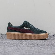 I am so completely in love with these beauties and I like the idea that rihannas creepers are scattered all over the world.