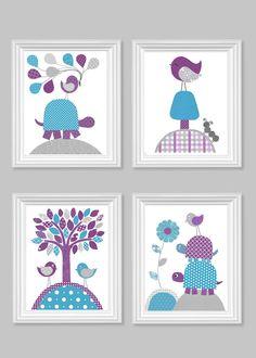 https://www.etsy.com/es/listing/199473394/baby-girl-nursery-art-gray-purple-plum?ref=related-5