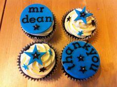 thank you teacher cupcakes Teacher Cupcakes, Thank You Cupcakes, Cotton Candy Cakes, Teacher Gifts, Desserts, Design Ideas, School, Food, Tailgate Desserts
