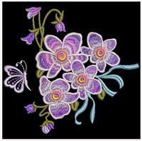 Elegant Floral 6 - Sweet Heirloom Embroidery | OregonPatchWorks
