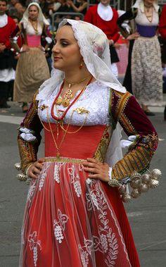 Costume di Ittiri ~ Ittiri is a comune in the Province of Sassari in the Italian region Sardinia, located about 160 kilometres northwest of Cagliari and about 15 kilometres south of Sassari. It is part of the Logudoro traditional region.