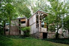 louis kahn residential fisher House - Google Search