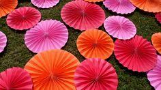 Custom Color Wedding Pinwheels