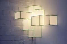 how to make a square lamp shade - Google Search