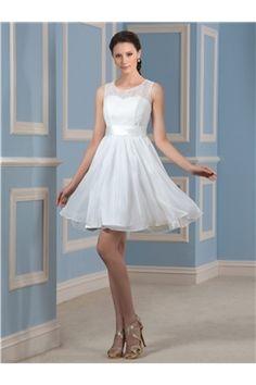 Short Wedding Dress TB