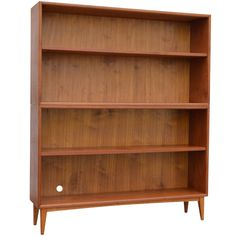 Swedish Mid-Century Teak Stack-able Bookcase | From a unique collection of antique and modern bookcases at https://www.1stdibs.com/furniture/storage-case-pieces/bookcases/