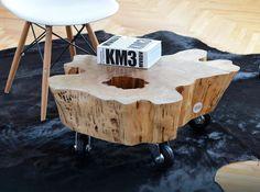 Jak zrobić stolik z pnia drzewa - krok po kroku. Idealny mebel do wnętrza w…