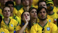 World Cup 2014: The agony of defeat! Brazil fans go from excitement to tears - CBS News