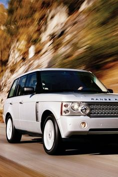 Range Rover SUV (white) please!