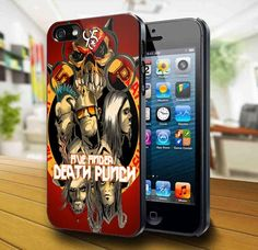 5 Finger Death Punch Heavy Rock Band iPhone 5 Case | kogadvertising - Accessories on ArtFire
