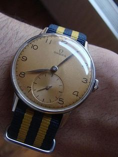 that vintage watch by omega.
