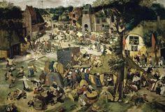 Village Celebration (I) by Bruegel The Elder, Pieter - Wall Art Giclee Print or Canvas