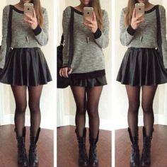 outfit-con-falda