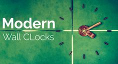 Update your #HomeDecor with #ModernWallClocks at #ReadyDeals.