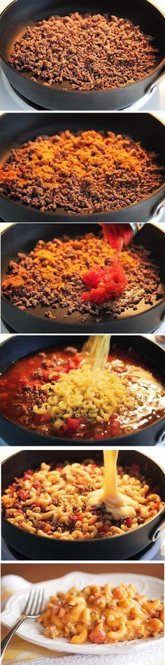 Cheeseburger Macaroni Recipe