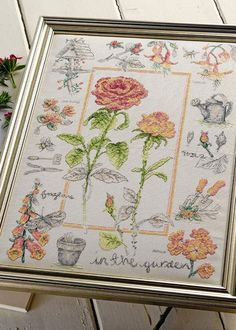 Summer in Bloom, from Cross Stitch Collection, via Anchor/Coats.