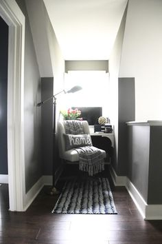 The Yellow Cape Cod: Makeover Reveal: From Small Unused Space To Cozy Office Nook