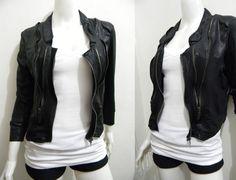 wengpot Nwot imported stretchy crop blazer super trendy! Medium - large