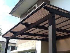 ไอเดียงานติดตั้งกันสาดโปร่งแสง มินิ โปรไลท์MINI PROLITE Translucent roofing Idea