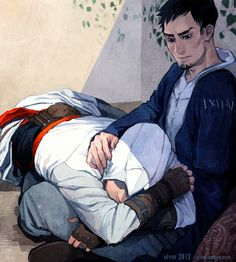 Altair & Malik. AltMal. Assassin's Creed.