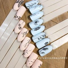 The advantage of the gel is that it allows you to enjoy your French manicure for a long time. There are four different ways to make a French manicure on gel nails. The choice depends on the experience of the nail stylist… Continue Reading → Classy Nails, Stylish Nails, Trendy Nails, Nail Art Designs Videos, Nail Designs, Nail Manicure, Manicures, Nail Polish, Lux Nails