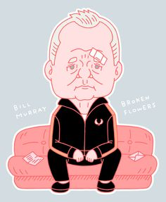 "onara-collective: "" DON JOHNSTON (BROKEN FLOWERS) DRAWN BY KUNO TAKASHI 2015 * """