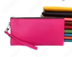 Ladies Monogrammed envelope wristlet, clutch, purse or  Handbags- Great Gift - SINGLE INITiAL ONLY