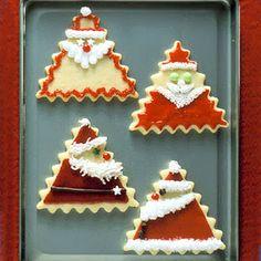 Παιδικό πάρτυ- Γλυκά: Ιδέες γαι χριστουγεννιάτικα μπισκότα! 25 Days Of Christmas, Christmas Books, Christmas Goodies, Christmas Treats, Christmas Baking, Santa Christmas, Christmas Recipes, Holiday Recipes, Christmas Tree Cookies