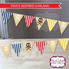 Jake and the Neverland Pirates Garland Ready to by SugarTreePress, $15.00