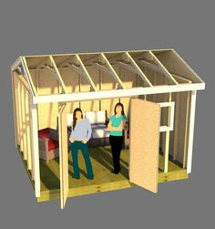 Shed Plans - Shed Plans - Get away for it all in your secluded she shed! Build your perfect she shed using these 12x10 saltbox shed plans. - Now You Can Build ANY Shed In A Weekend Even If Youve Zero Woodworking Experience! Now You Can Build ANY Shed In A Weekend Even If You've Zero Woodworking Experience!