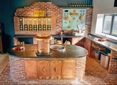 At the Hachenburger brewery you can make your own beer in front of Wienerberger Terca bricks. Enjoy it!