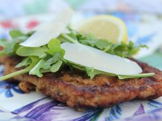 Chicken Milanese recipe from Ree Drummond via Food Network