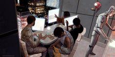 """Deep, Dark And Dangerous"": Outstanding Fantasy, Sci-Fi & Comic Book Illustrations By David Palumbo Family Illustration, Illustration Art, Book Illustrations, Deep Dark And Dangerous, New York To Paris, Sci Fi Comics, Best Sci Fi, Freelance Illustrator, Comic Covers"