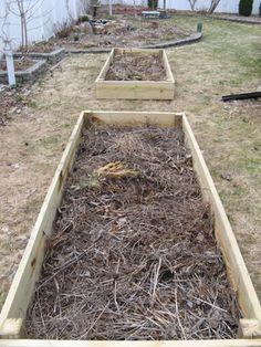 Add garden debris