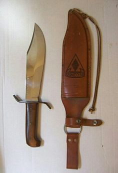 coleman western bowie knife
