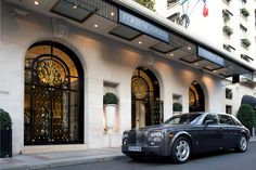 A custom-designed collaboration between Rolls-Royce, the fashion house Hermès and Four Seasons Hotel George V Paris, our Rolls-Royce Phantom perfectly encapsulates the style of the City of Lights. This hand-built, totally unique car can be yours for a day's shopping or to simply explore this beautiful city.