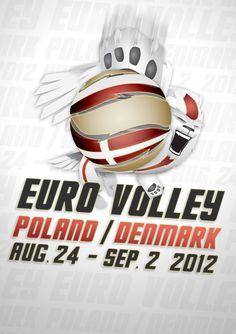 Euro Volley 2012 visual ID by Ben Eshel, via Behance