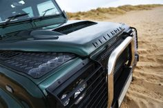 Void Land Rover Defender Bonnet and Grill