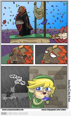 Curse You, Link!