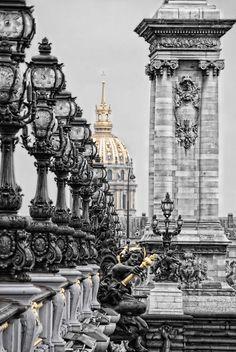 Paris Pont (Bridge) #travel