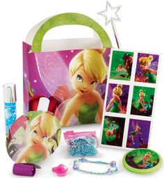 Tinkerbell Birthday Party! Paige loves tinkerbell to! Decisions decisions...