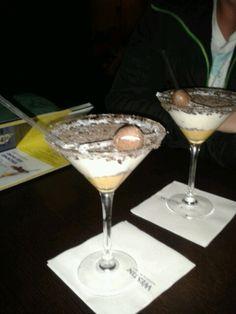 Creme egg cocktails at The Mint bar