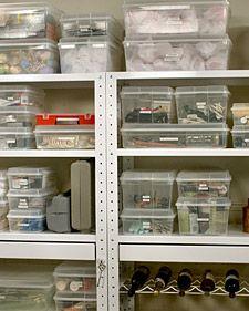 Martha Stewart organizes basements
