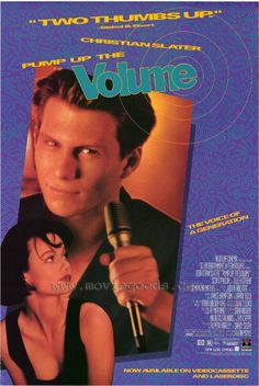 Pump up The Volume Movie Poster EDFD