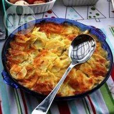 Saffron Potato Bake @ allrecipes.com.au