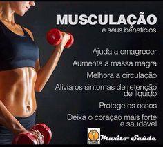 Musculação benefícios