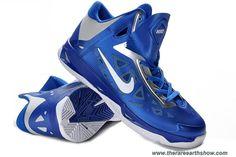 Cheap Nike Zoom Hyperchaos Mens Game Royal White Metallic Silver 535272 400