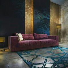 Apartment Interior Design, Interior Design Living Room, Living Room Designs, Living Room Decor, Living Room Inspiration, Interior Inspiration, Deco Zen, Beautiful Interiors, Decoration