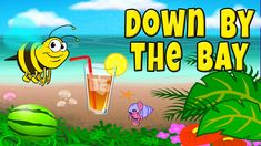 Down by the Bay with Lyrics - Your children will love this delightfully animated nursery rhyme. Singing nursery rhymes enhances vocabulary and language development. Nursery rhymes accelerate phonemic awareness improving children's word comprehension, reading and writing skills. Also, nursery rhymes with actions teach children basic skill, boosts memory, listening skills and following directions.