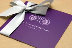 Purple & Slate Wedding Colour Scheme